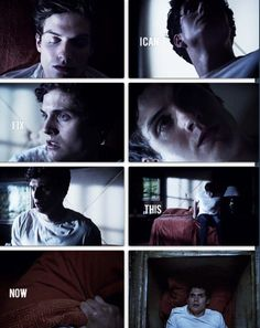 Teen Wolf , Isaac Lahey O.o Nails his dads voice