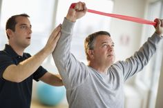 Exercises to Rehab From a Shoulder Injury or Surgery: Exercises can speed the recovery of a sore shoulder.