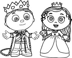 Super Why Coloring Pages | Cartoon Coloring Pages | Pinterest ...