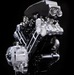 Motorcycle engines just don't look this good. New Brough Superior SS100 motor.