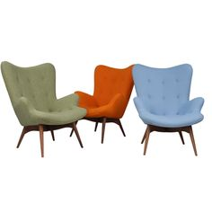 The Matt Blatt Replica Grant Featherston Contour Lounge Chair  main image