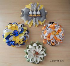 Finding Nemo Hair Bows Set