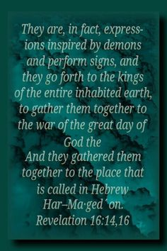 """Revelation - Satan is now """"misleading the entire inhabited earth"""". Jesus called him the """"god of this Cor. 1 John Unseen spirits manipulate people (like puppets) and even put on an angelic appearance or voice. Satan is called the """"angel of Corinthians King Jesus, God Jesus, 1 John 5 19, Revelation Bible, Bride Of Christ, Bible Promises, Bible Truth, Jehovah's Witnesses, Words Quotes"""