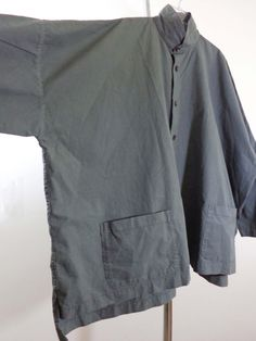 Eskandar jacket lagenlook top artsy art to wear gray monk imperial designer OS #Eskandar #BasicJacket