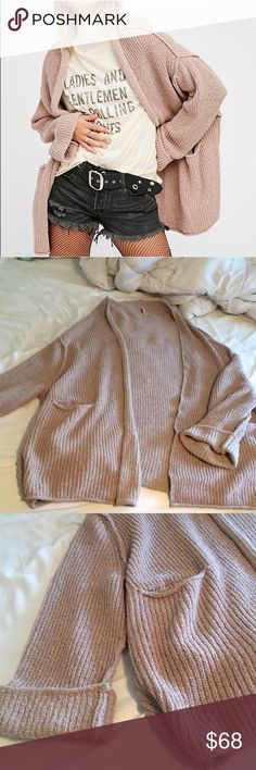 MUST GO - 🎉HP🎊 NWT Free People Low Tide Cardi Brand new with tags! Free People Sweaters Cardigans