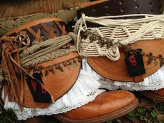 Cowboy boots Womens boots OOAK boots Any by ThePaintedPalomino, $165.00