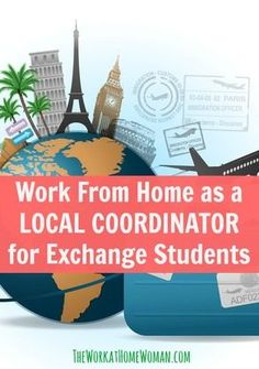 Do you love learning about new cultures, traveling, and making a difference in people's lives? Then this could be a very rewarding work at home opportunity for you!