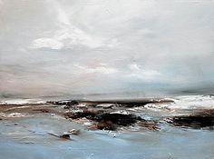 Landscape Drawings, Abstract Landscape, Landscape Paintings, Abstract Canvas Art, Sea Waves, Beautiful Paintings, Art Oil, Kurt Jackson, Matt Smith