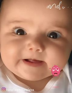 """I was saying """"i love you"""" to my mommy. i guess 😂 By: Cute Baby Boy Photos, Cute Kids Pics, Cute Funny Baby Videos, Cute Funny Babies, Cute Little Baby, Little Babies, Cute Baby Girl Wallpaper, Funny Baby Memes, Baby Faces"""