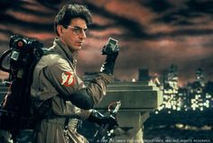 Harold Ramis looking pretty badass as Egon Spengler in Original Ghostbusters, Extreme Ghostbusters, Gost Busters, Harold Ramis, Great Comedies, Live Action, Good Movies, Movies