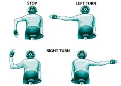 Bike With One Hand: Beginners' Cycling Skills | Bicycling Magazine ... good to practice ...