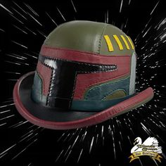 Boba Fett Leather Bowler Hat http://geekxgirls.com/article.php?ID=8353