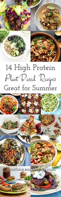 high protein plant based recipe round up for summer summer recipes summer recipes abendessen rezepte recipes recipes dessert recipes dinner Healthy Recipes, Veggie Recipes, Whole Food Recipes, Cooking Recipes, Protein Recipes, Diet Recipes, Protein Foods, Protein Cake, Protein Muffins