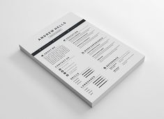 This is a Free Resume CV template for free use of personal and commercial purposes. The free resume template belongs MS Word(docx/doc), PSD, AI, EPS, PDF versions. Simple Resume Template, Resume Design Template, Creative Resume Templates, Cv Template, Google Docs, Resume Cv, Free Resume, Sample Resume, Web Designer Resume