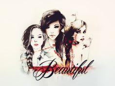 Beautiful girls||blend2 by ~ErisHerondale on deviantART