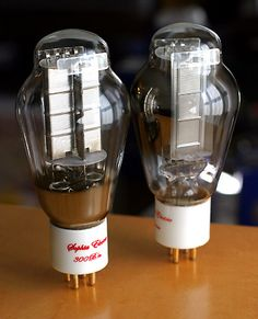 Sophia Electric S.E.T. Princess 300B Mesh Plate Tubes for 300 B Amplifiers