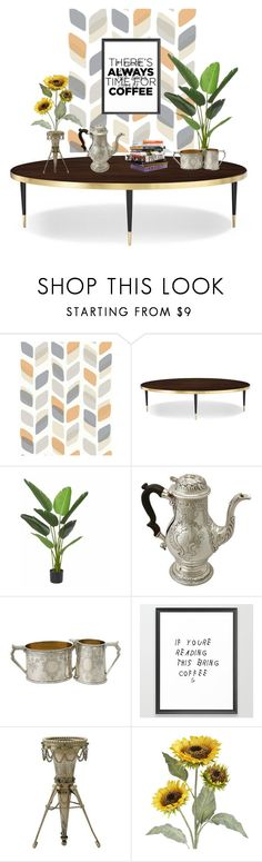"""""""There's Always Time For Coffee"""" by ac-silver ❤ liked on Polyvore featuring interior, interiors, interior design, home, home decor, interior decorating, Kate Spade, Anna Sui, Pier 1 Imports and vintage"""