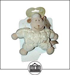 Peluche Oveja blanco beige Tiamo 18cm de cascabel  ✿ Regalos para recién nacidos - Bebes ✿ ▬► Ver oferta: http://comprar.io/goto/B01DYC3H82