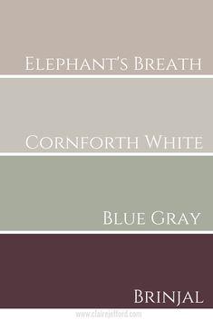 Elephant's Breath Farrow And Ball - Claire Jefford