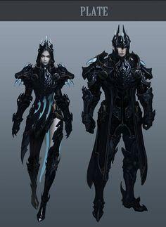 Aion 4.0 Concept Art - Plate Armour