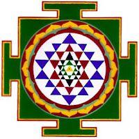 The Subject of Art Yantra - The Abstract and Sacred Art of India Indian Spirituality, Subject Of Art, Divine Grace, Sri Yantra, Deep Meditation, Ancient Symbols, Star Of David, Sacred Art, Mandalas
