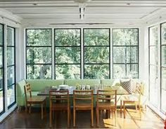 Kitchen Booths Andersen Windows 24 Best Images Dining Light Filled Booth Sunroom Banquette Nook Couch