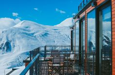 Mountain-Inspired Hotel Constructed from Shipping Containers