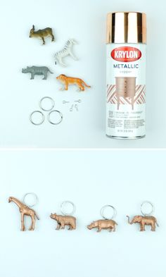 DIY Animal Key Chain