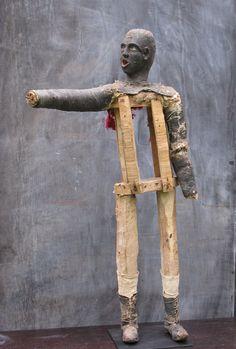 eaudubain:    Black minstrel figure