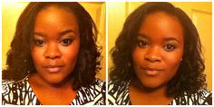 holiday party hair: curlformers on natural hair! #rollerset