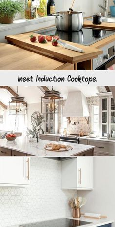 INDUCTION COOKING is amazing! We currently have a gas range and I assumed we would do another for our kitchen remodel; but now that I've researched gas vs induction, we changed our design!