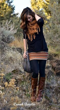 Must Wear fall outfits with boots (8): love this sweater!