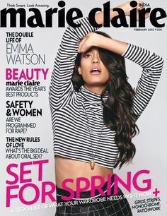 Lisa Haydon- Marie Claire Magazine Cover [India] (February 2013)