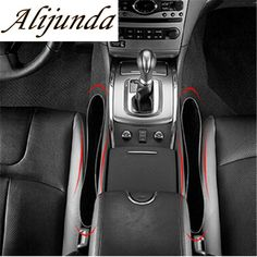 Alijunda 2pcs Car Styling Seat Gap Storage Box For Mini One Cooper R50 R52