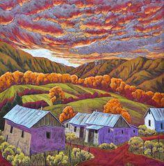 "Jennifer Cavan  -  ""A Painted Sunset"""