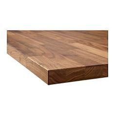 IKEA - KARLBY, Blat na zamówienie, 63.6-125x3.8 cm, , Bezpłatna gwarancja 25 lat. Warunki gwarancji znajdziesz w broszurze.Blat jest wykonywany na zamówienie do Twojej kuchni. Wybierz odpowiednią głębokość (10-125 cm) i długość (maksymalnie 4 m bez łączeń).Blat z kuchenny z wierzchnią warstwą z litego drewna, wytrzymałego naturalnego materiału, który można szlifować i olejować według uznania.Blat KARLBY można szlifować, z wyglądu i w dotyku jest jak lite drewno, ale trzeba go tylko od czasu…