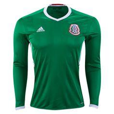 彡 ☆彡 ☆彡 ☆彡Mexico 2016 Long Sleeve Home Jersey On Sale! Now just $69.99! WorldSoccerShop.com