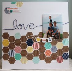 Stampin' Up! Artisan Design Team - July - Six-sided Sampler  Hexagon punch - Amy Bollman