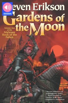 The Malazan Book of the Fallen Series by Steven Erikson Steven Erikson, Fallen Series, Fallen Book, Wolf, Moon Book, Fantasy Books, Fantasy Literature, Fantasy Series, First Novel