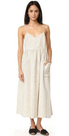 Mara Hoffman Dress with Patch Pockets | SHOPBOP