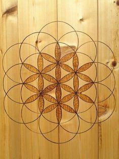 sacred geometry wood floor - Google Search