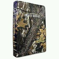 the Bible and camo. All a country girl could need