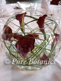 red calla lilies centerpieces | Calla Lily Wedding Centrepieces