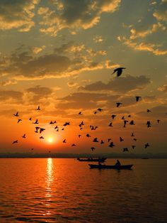 Breathtaking Sunrise of the Chausatti Ghat in Varanasi, India