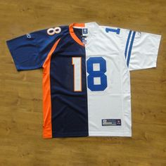 peyton manning broncos   Peyton Manning No.18 Colts-Broncos Jersey Version 2 : jerseydecoration ...