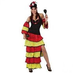 Déguisement de danseuse de Rumba Taille 36-38