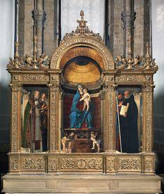 Madonna con Bambino e Santi | Basilica dei Frari