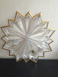 godinger dublin lead crystal lazy susan 5 section appetizer server platter cut glass