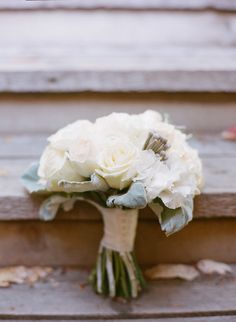 Rustic white bouquet: http://www.stylemepretty.com/canada-weddings/british-columbia/2014/06/10/rustic-elegance-on-the-sunshine-coast/ | Photography: James Looker - http://www.jameslooker.com/