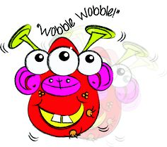 """""""Hello! I'm Wobble Wobble""""  This Rediscoveree was created by My Rediscoveries Founder"""